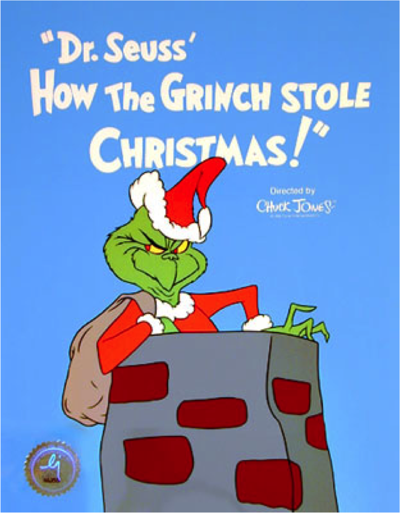 How the Grinch Stole Christmas! (1966) – poster girl